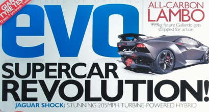 """All-Carbon Lambo"", EVO Magazine, December 2010"