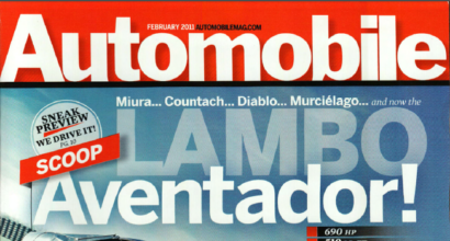 """Lambo Aventador!"", Automobile Magazine, February 2011"