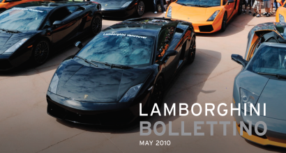"""Lamborghini Honored at Prestigious Carbon Fiber Conference"", Lamborghini Bollettino, May 2010"
